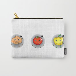 Funny angry vegetables Carry-All Pouch