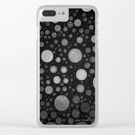 Make The World A Better Place Clear iPhone Case