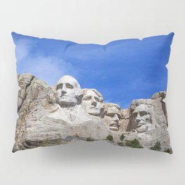 Mt Rushmore Pillow Sham