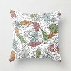 My dancing leaves Throw Pillow