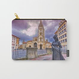 Cathedral of San Salvador  in Oviedo. Carry-All Pouch