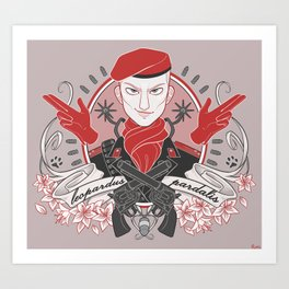 Revolver Ocelot - MGS3 - Metal Gear Solid Art Print