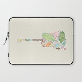 Let your Guitar Sing Laptop Sleeve