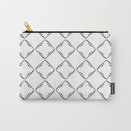 Black and white squares pattern. Simple pattern design. Carry-All Pouch