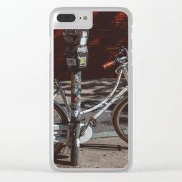 Williamsburg Ride II Clear iPhone Case