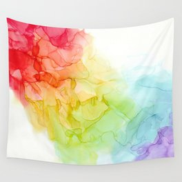 Study in Rainbow Wall Tapestry
