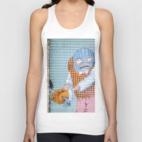 grafitti Tank Tops featuring Breakin' and Enterin' by Alex Tonetti Photography