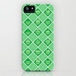 The Nik-Nak Bros. Leafie Grrrreen iPhone Case
