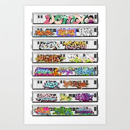 GRAFFITI CLASSICS Art Print