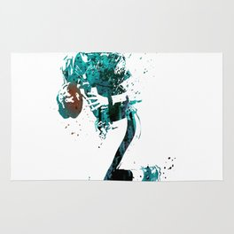 Carson Wentz #American football player Rug