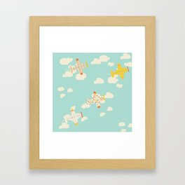 Flying By Framed Art Print