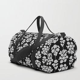 Black roses bouquet Duffle Bag