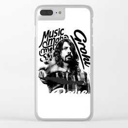 Grohl Clear iPhone Case