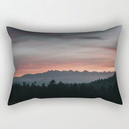 Mountainscape - Landscape and Nature Photography Rectangular Pillow