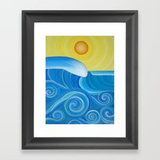 Perfect Surf Framed Art Print