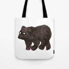 blind as a bear Tote Bag