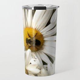 happy daisies in my garden Travel Mug