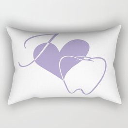 I (heart) Tooth Rectangular Pillow