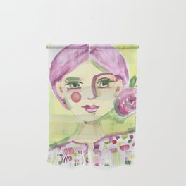Lavender Lady Wall Hanging