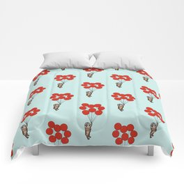 I Believe I Can Fly English Bulldog Comforters