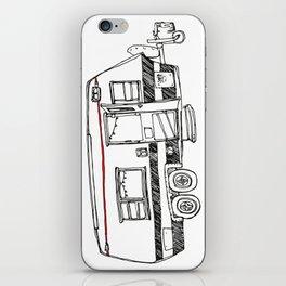 Three wheeled house iPhone Skin