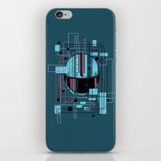 Reticent. iPhone & iPod Skin