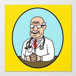 Dr. Pute Canvas Print