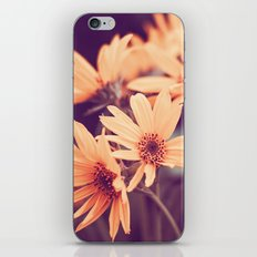 Gold Floral iPhone & iPod Skin