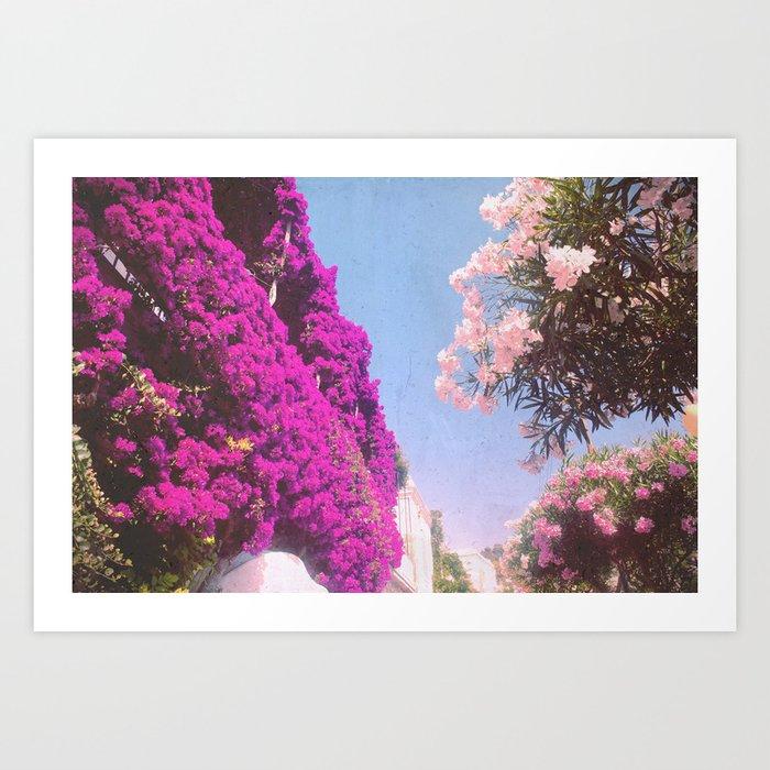 Summer Dreamin' Amalfi Coast Kunstdrucke