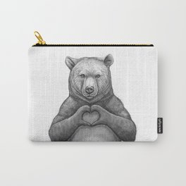 Bear with love Carry-All Pouch