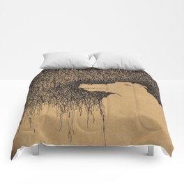 Fading Slowly Comforters