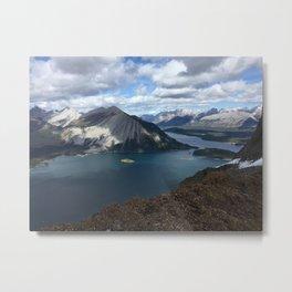 Kananaskis Lakes Metal Print