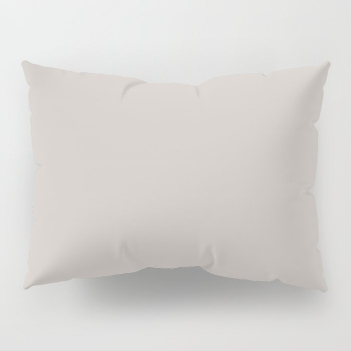 Silver Scene ~ Sand-Grey Coordinating Solid Pillow Sham