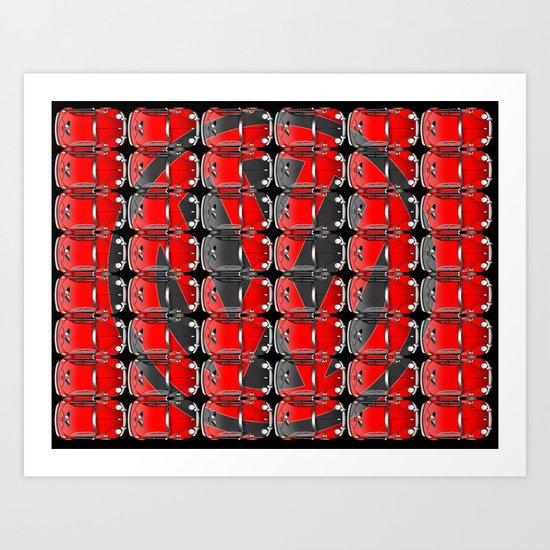 VW logo Art Print