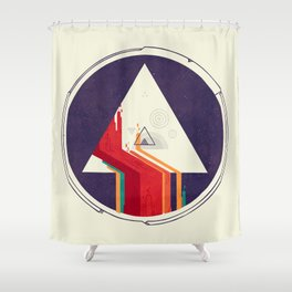 Portal Study Shower Curtain