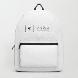 Liverpool minimal logo Black Backpack