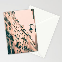 Paris Marais street Stationery Cards