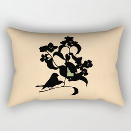 Idaho - State Papercut Print Rectangular Pillow