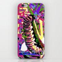 matisse iPhone & iPod Skins featuring Matisse Caterpillar by Ellen Turner