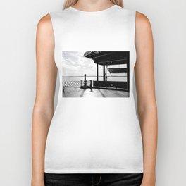 Staten Island Ferry (Silhouette) Biker Tank