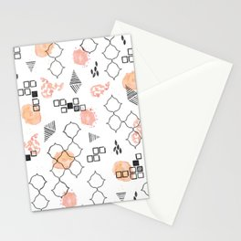 Modern Memphis Stationery Cards