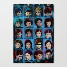 Angry Wardolls Canvas Print