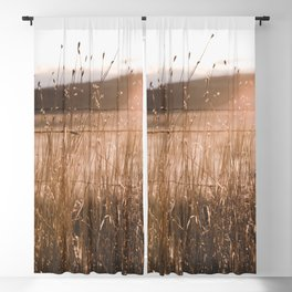 Summer Fields - Rustic Adventure Nature Photography Blackout Curtain