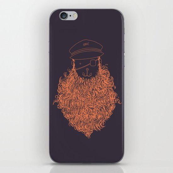 Aye Aye Captain iPhone & iPod Skin
