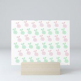 Snail - a - thon Mini Art Print