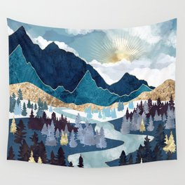 Valley Sunrise Wall Tapestry