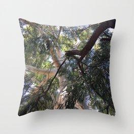 Ozzy big tree Throw Pillow