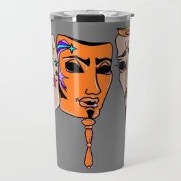 Esther, Hammond and Xerxes Purim Travel Mug