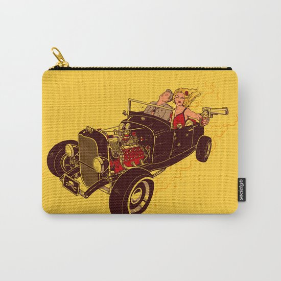 Bonnie & Clyde Carry-All Pouch