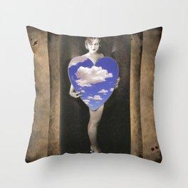 Be Mine. Let's Escape Throw Pillow